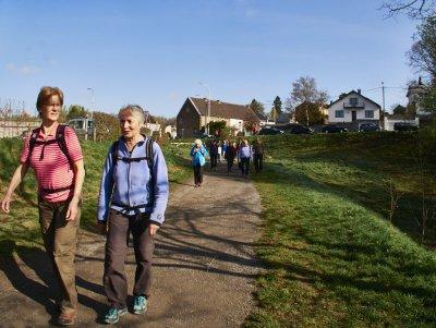 Wandergruppe des Senioren