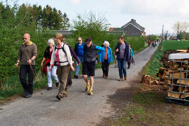 Wandergruppe der Senioren