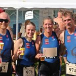 Triathlons in Bracciano, Riesenbeck, Krefeld und Goch