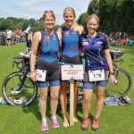 "Regionalliga-Frauen beim ""Channel Triathlon"" in Rheine"