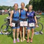 """Regionalliga-Frauen beim """"Channel Triathlon"""" in Rheine"""