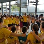 Brander beim 37. internationalen Schwimmer-Fünfkampf