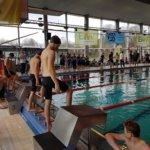 3. Platz in der Mannschaftswertung beim Schwimmer 5-Kampf